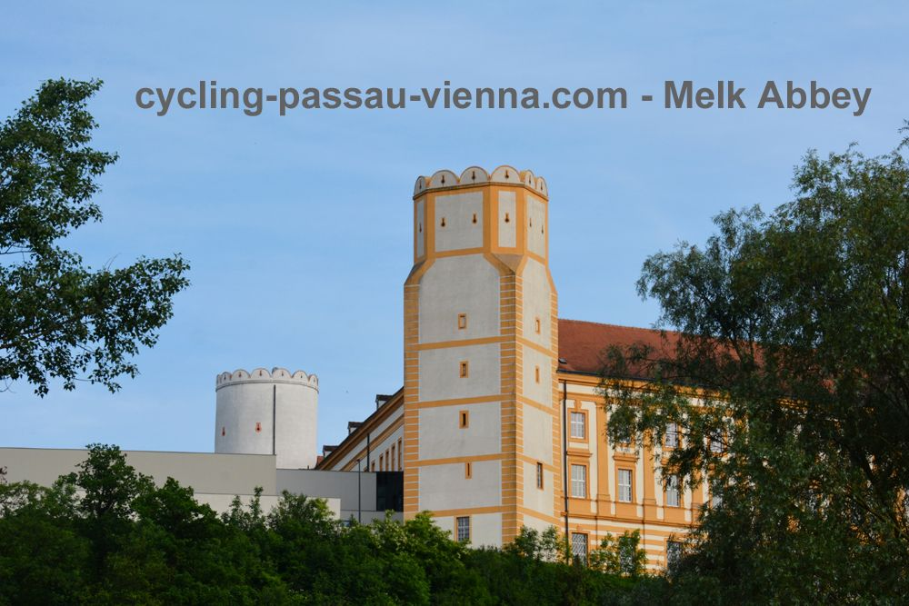 Cycling Passau-Vienna - Melk Abbey