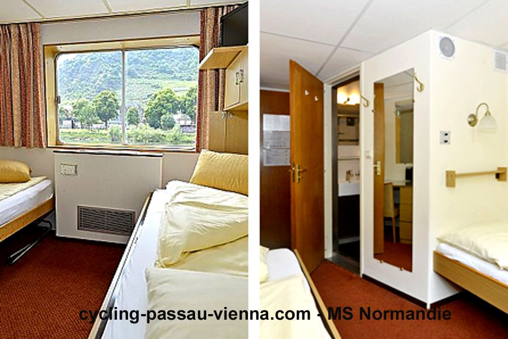 MS Normandie - cabin