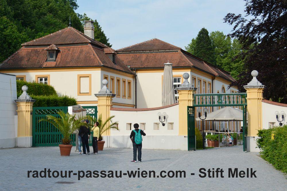 Radtour Passau-Wien - Stift Melk