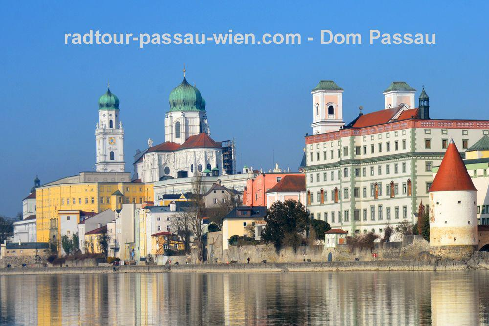 Cycling Passau-Vienna - St. Stephen's Cathedral, Passau