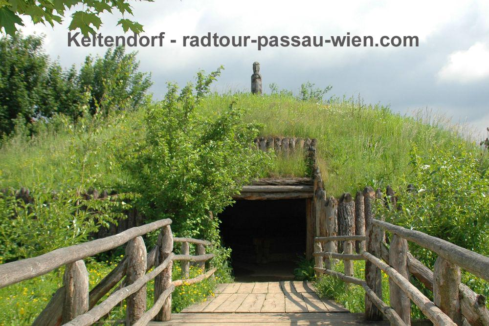 Cycling Passau-Vienna - The Celtic village of Mitterkirchen